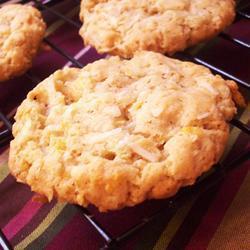kokos cornflakes kekse