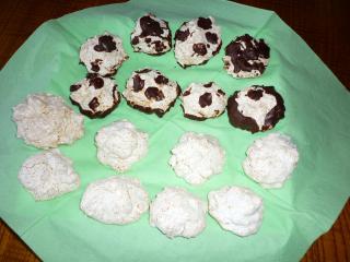 kokosmakronen im flavorwave oven gebacken