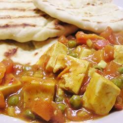 kokosnuss tofu curry