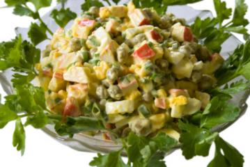 krabben erbsen salat für diabetiker