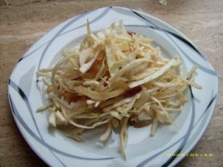 krautsalat mit speck dressing