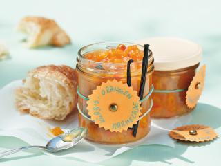 kürbis orangen marmelade