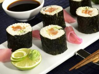 lachs sushi mit sherry dip rezepte suchen. Black Bedroom Furniture Sets. Home Design Ideas