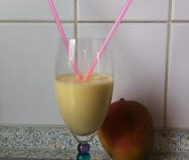 lactosefreier mango lassi