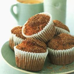 laktosefreie bananen zimt muffins