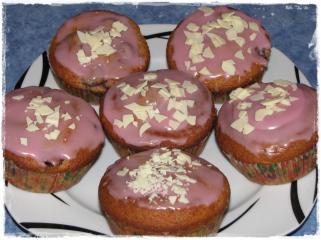laktosefreie kirschmuffins