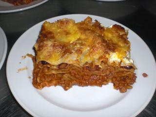 lasagne mit gewürzgurken