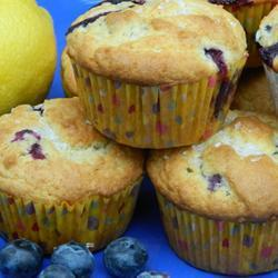 leckere blueberry muffins