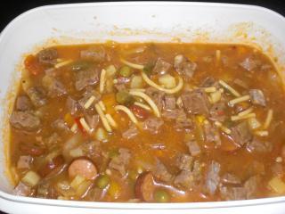 leichte italienische suppe