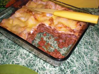 leichte lasagne