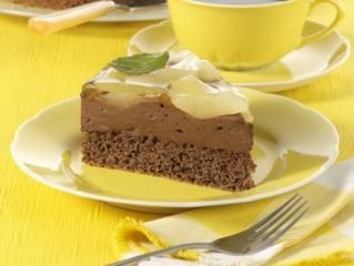 leichte schoko mokka mousse torte