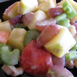 leichter waldorf salat