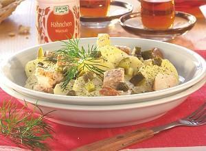 lettischer hähnchensalat