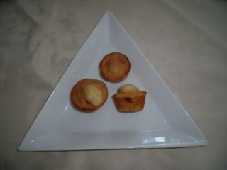 luftige rhabarber muffins