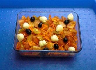 maltesersalat möhren papaya tomaten salat