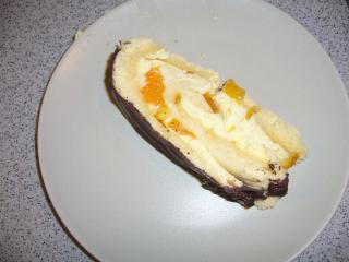 mandarinen schoko biskuitrolle
