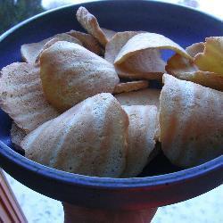 mandelbögen mit zitrone
