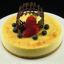 maracuja cheesecake mit weißer schokolade