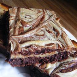 marmorierte brownies mit erdnussbutter