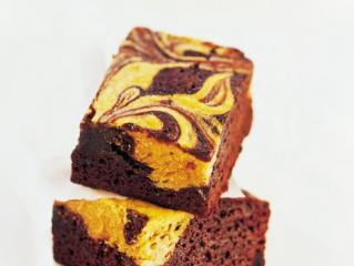 marmorierte erdnuss brownies