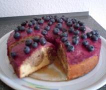 marmorierte heidelbeer torte