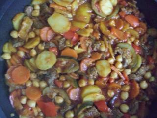 marokkanische kartoffelpfanne