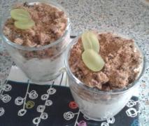 mascarpone trauben dessert
