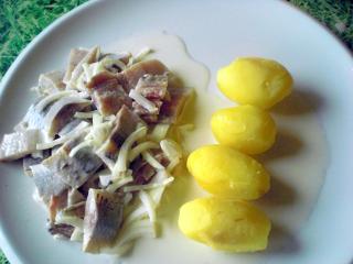 matjes mit kartoffeln