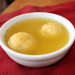 matzo ball soup matzeknödel suppe