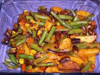 mexikanisches kartoffel chili