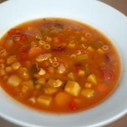 minestrone vegetarisch