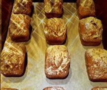 mini kuchen mit snickers und mars füllung