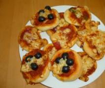 mini pizza für jeden geschmack pizze piccole