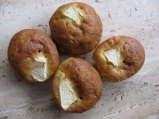 mini apfel vanille muffins