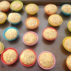 mini muffins mini bananenmuffins