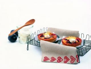 mini zwetschgenkuchen