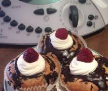 mohn himbeer muffins