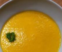 möhren orangen cremesuppe