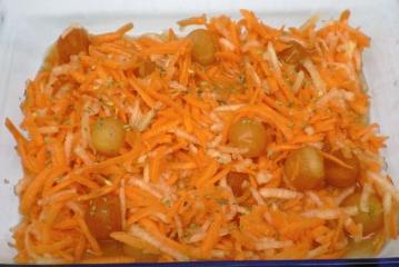 möhren papaya salat