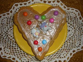 möhrenkuchen mit zitronenglasur