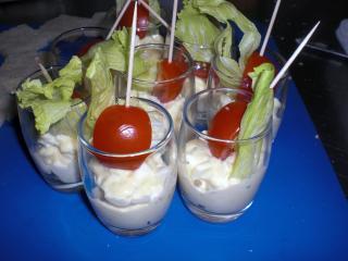 mozzarella eier salat