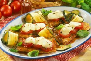 mozzarella schnitzel