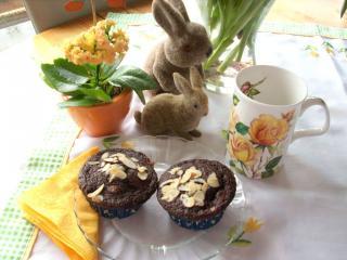 muffins mit banane und kakao