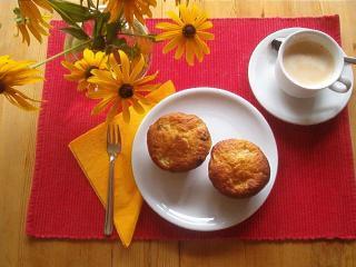 muffins mit birne kiwi und apfel