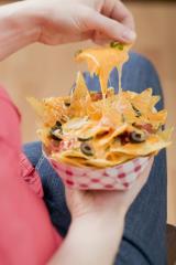 nachos mit käse