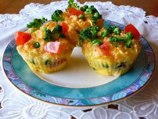 nudel muffins im flavorwave oven gebacken