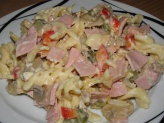 nudel schinken wurst salat amp quot curry chili amp quot
