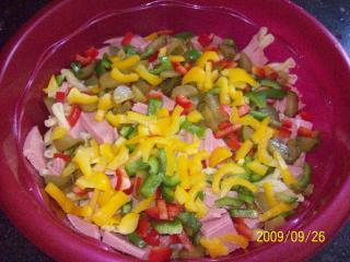 nudel wurst salat