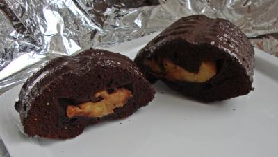 omas schokoladen apfel kuchen