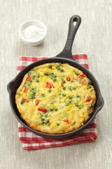 omelett mit mais